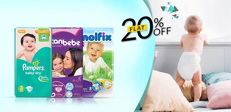 Pampers 20 Off Campaign