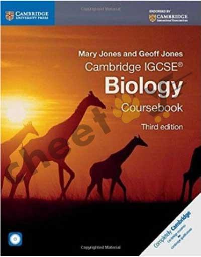 Cambridge IGCSE Biology Coursebook With CD, 3E PB 2014