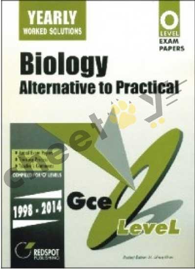 GCE O Level Biology Alternative To Practical