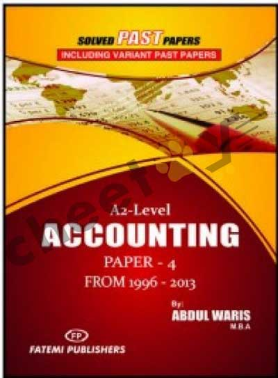 Accounting Paper 4 Solved